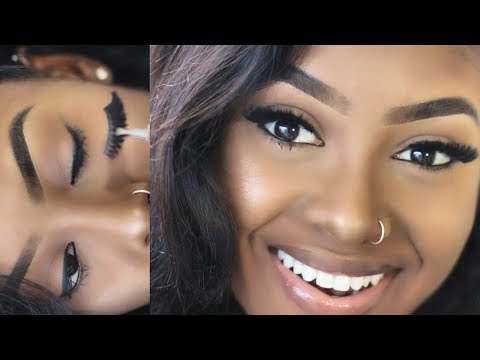 Apply False Lashes Like A PRO   Step by Step Tutorial   PETITE-SUE DIVINITII