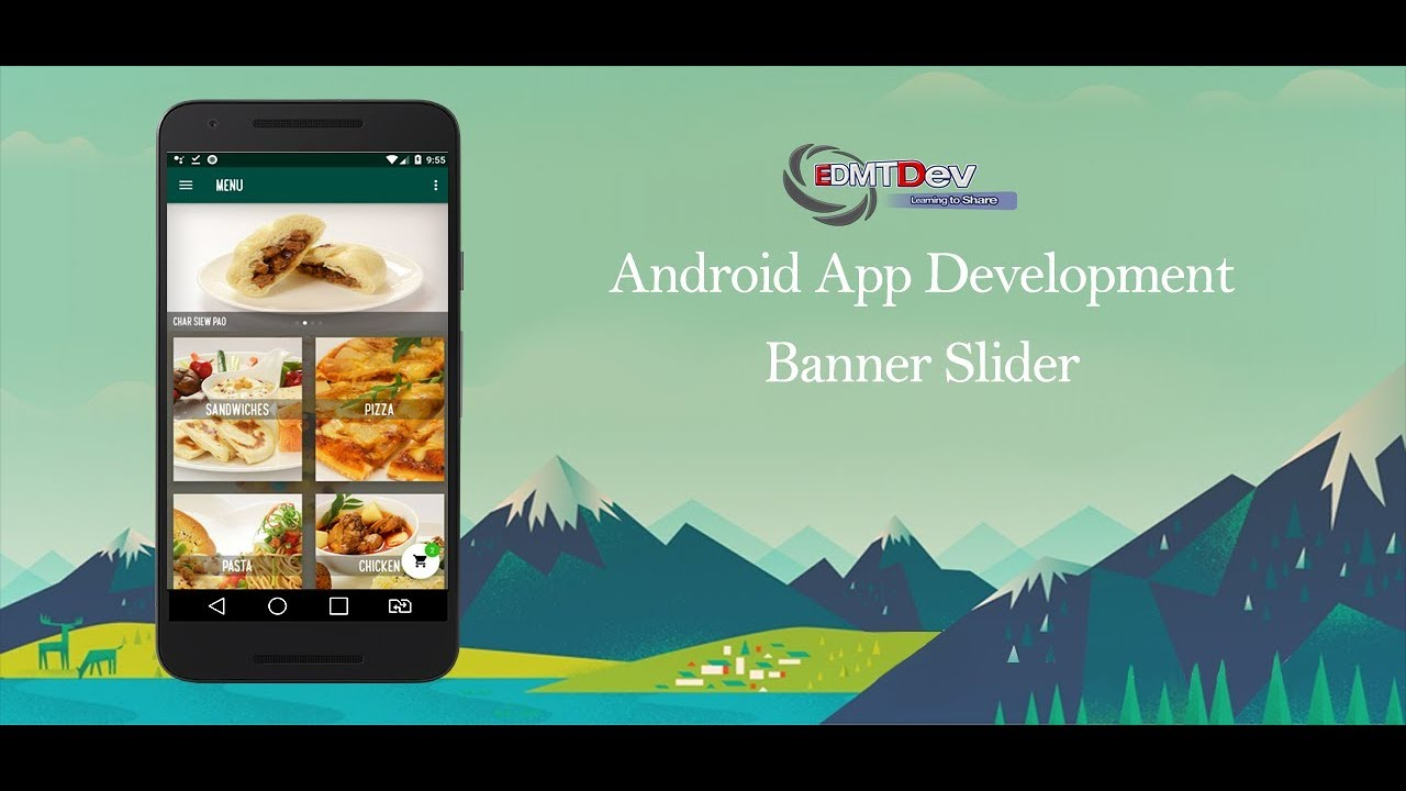 Android Development Tutorial - Order Food App Part 41 Add Banner Slider