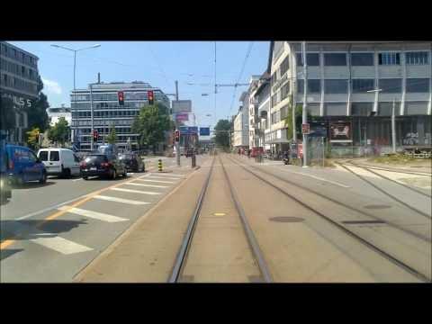 VBZ ZÜRICH TRAM - Linie 17: Werdhölzli - Bahnhofplatz|HB