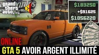 GTA 5 ONLINE // Avoir de l'ARGENT ILLIMITÉ (Glitch) - Grand Theft Auto 5 PS3 XBOX 360   FPS Belgium thumbnail