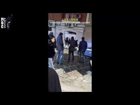 """VIDEO. Sequestrato bar gestito da uno dell'ex clan dei montanari. A Manfredonia blitz della Polizia al """"Caffè del Corso"""""""