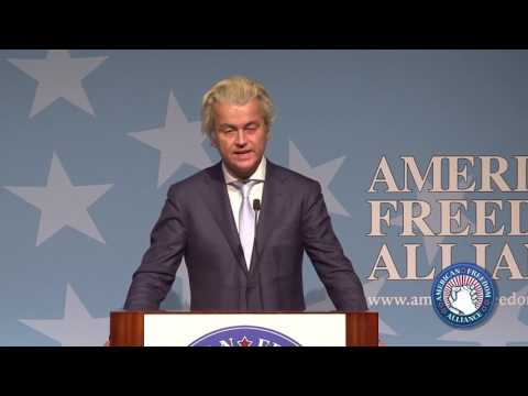 Geert Wilders Keynote @ AFA 2017 Heroes of Conscience Awards