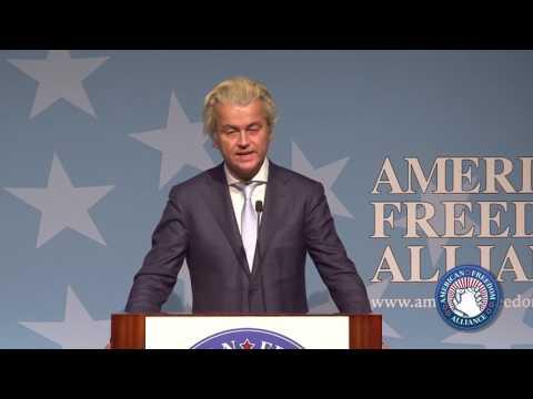 Geert Wilders Keynote @ AFA 2017 Heroes of Conscience Awards
