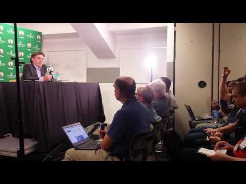 Celtics co-owner Wyc Grousbeck on trade talks for Celtics