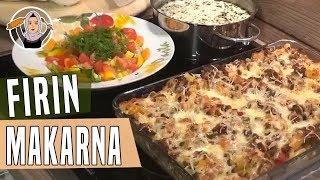 Beşamel Soslu Kıymalı Fırın Makarna-Yogurtlu Çorba-iftar menüsü-Hatice Mazi