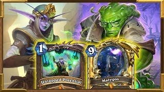 Hearthstone: Malygos 43 DMG OTK With Elise the Enlightened | Saviors Of Uldum New Decks