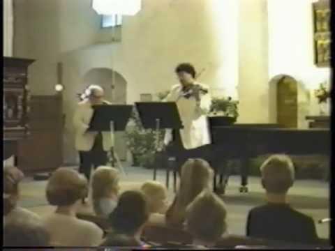 Isaac Stern & Mark Peskanov play Leclair (1 of 3)