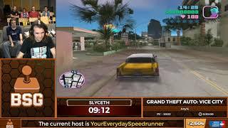 BSG Annual 2018   Grand Theft Auto: Vice City (Any%)