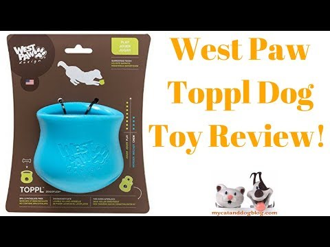 ⭐⭐   West Paw Toppl Dog Toy Review!  Click The Link Below! ⭐⭐