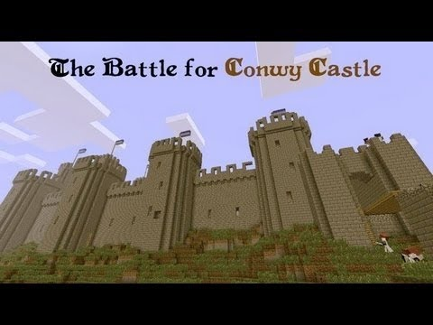 minecraft battle for conwy castle #2