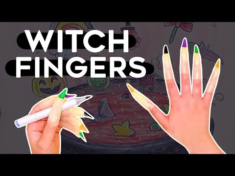 Drawing with WITCH FINGERS