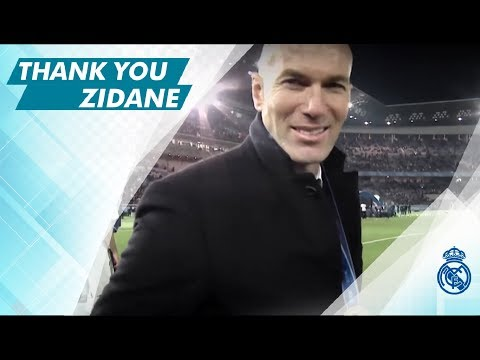 ZIDANE, Thank you...