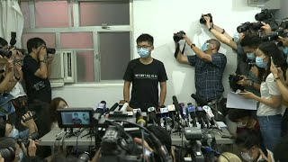 'They can't kill us all': HK's Joshua Wong says resistance to continue | AFP