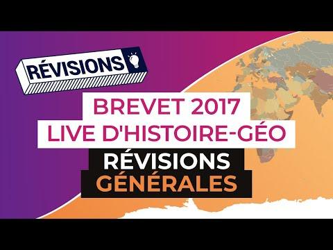 Brevet 2017 : Révisions en Live d'Histoire Géo : Révisions générales - digiSchool