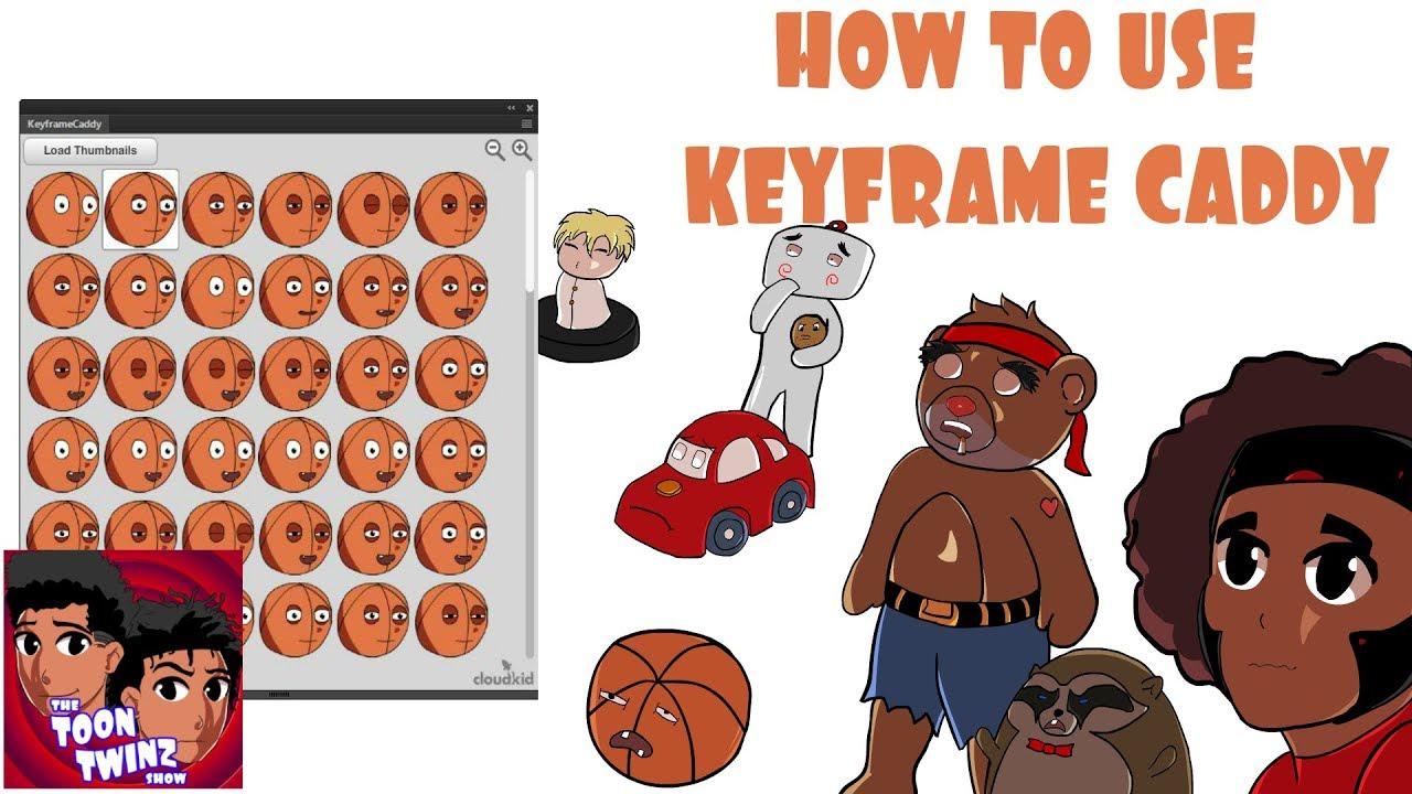 How To Use Keyframe Caddy