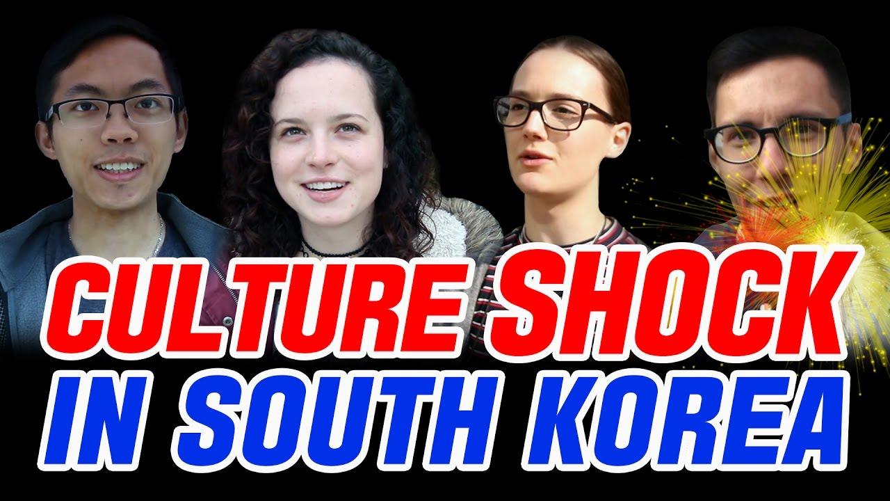 Foreigners Cultural shock in South Korea/한국에서의 외국인 컬쳐쇼크  [Loving korea] 한류  YouTube