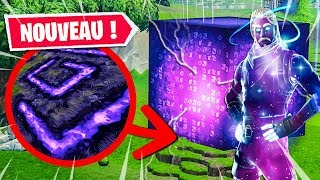 A secret MESSAGE hidden FROM THE CUBE on Fortnite: Battle Royale