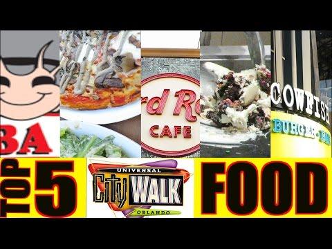 Top 5 Best Restaurants in CityWalk Universal Studios Orlando