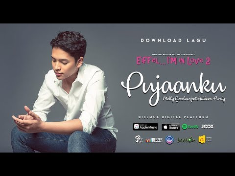 PUJAANKU Melly Goeslaw feat Adikara Fardy ( Video Lyrics )