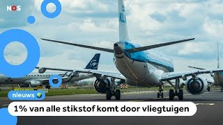 'Luchtvaart mag alleen groeien als ze minder stikstof uitstoten'