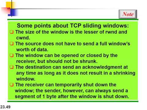 chapter 23:Process-to-Process Delivery: UDP, TCP, and SCTP