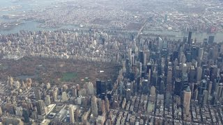New York City Aerial Views of Manhattan Brooklyn Queens North Jersey