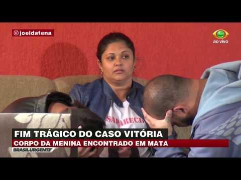 Mãe de menina Vitória não acredita na morte da filha