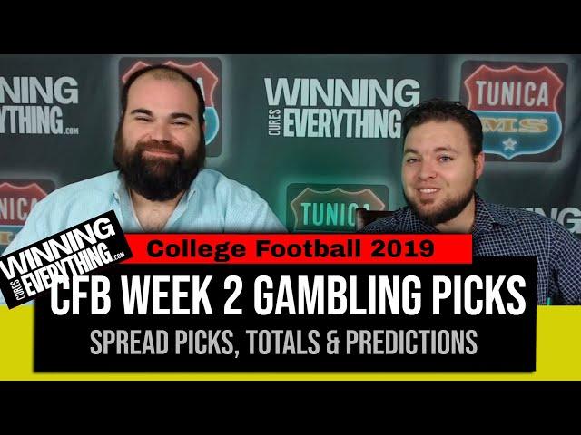 WCE: 2019 College Football Gambling Picks Week 2 (Against the Spread)