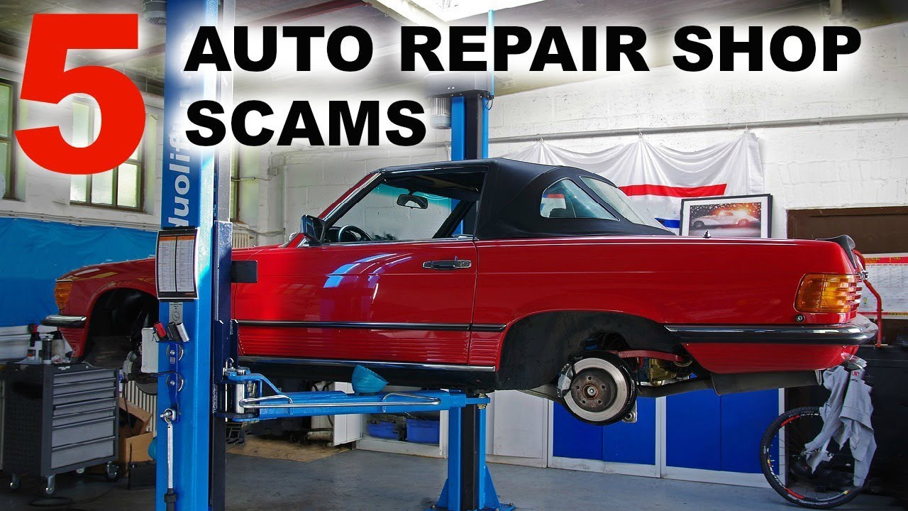 Top 5 Auto Repair Shop Scams Youtube