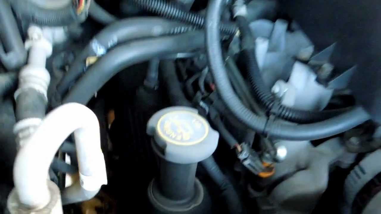 1997 Ford Expedition 54L PCV Valve Location  YouTube