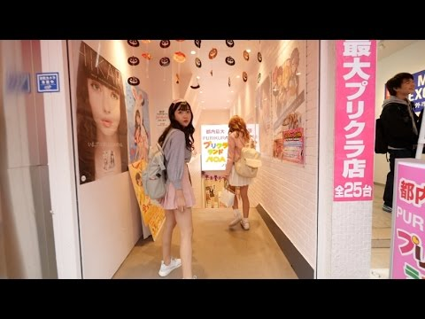 SHOPPING AT HARAJUKU (HAIR SALON, ALICE IN WONDERLAND SHOP AND MORE!!)