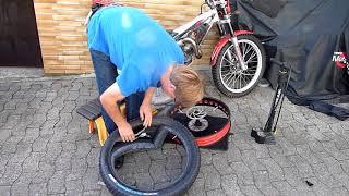 Fatbike Reifen unplattbar mit 5€ Aufwand