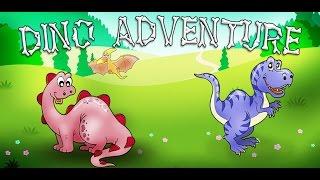 Dino Adventure Kids Game - App Gameplay Video