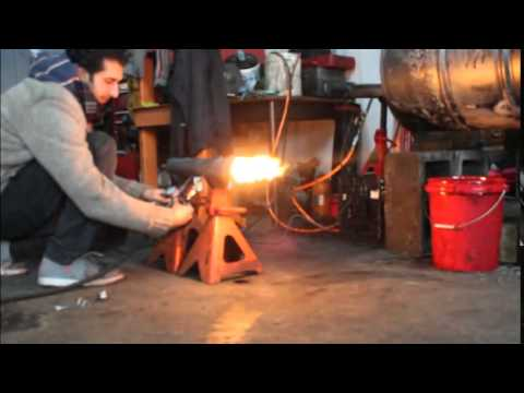 Waste Oil Heater Burner For Your Shop Or Garage Youtube