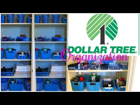 DOLLAR TREE BATHROOM ORGANIZATION | EXTREME MAKEOVER