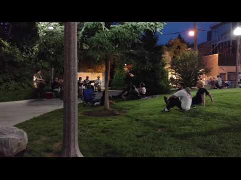 606 bike trail music in the park