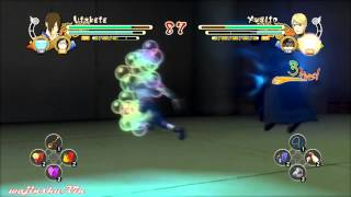 Naruto Ultimate Ninja Storm 3 Utakata vs Yugito Gameplay
