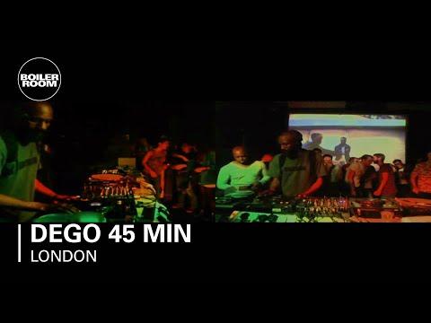 Dego 45 min Boiler Room DJ Set
