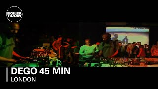 Dego 45 min Boiler Room DJ Set