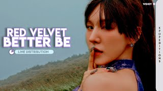 Red Velvet (레드벨벳) – Better Be | Line Distribution