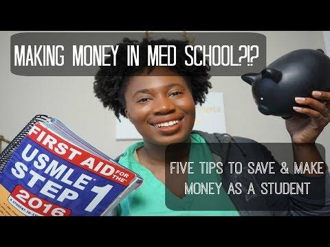 Make Money while in Med School?!? | Student Tips for Easy $$$