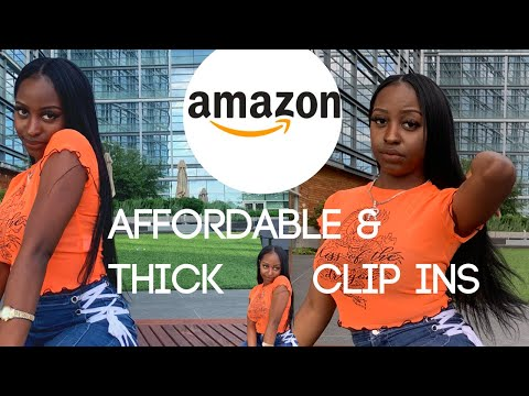 AMAZING Amazon Clip Ins For African American Hair | SASSINA HAIR  CLIP IN REVIEW