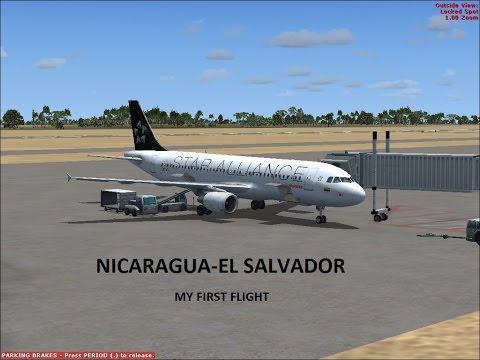 NICARAGUA-EL SALVADOR // A320 AVIANCA STAR ALLIANCE