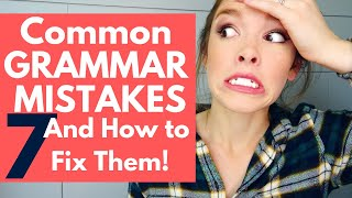 Common Writing Mistakes in English Grammar and How to Fix Them | HopeFullHappenings