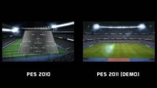PES 2010 VS PES 2011 - PC