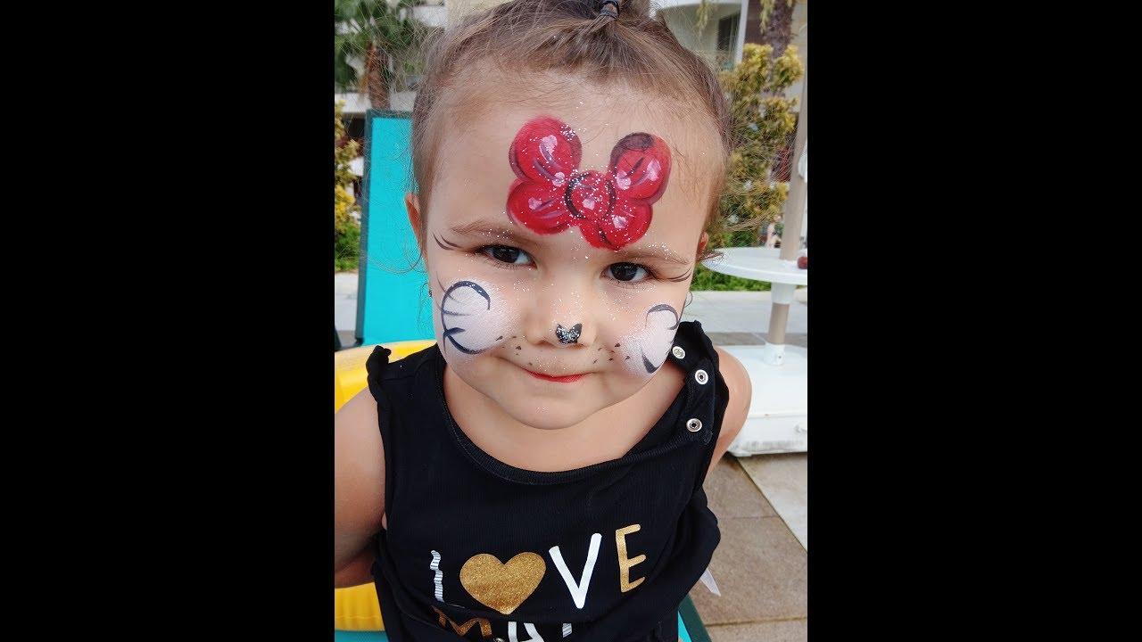 Yüz Boyama Etkinliği Mickey Mouse Youtube