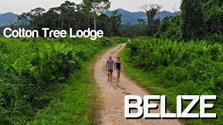 Backpacking Belize - Punta Gorda - INCREDIBLE Cotton Tree Lodge