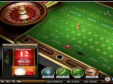 Roulette Progressive Betting