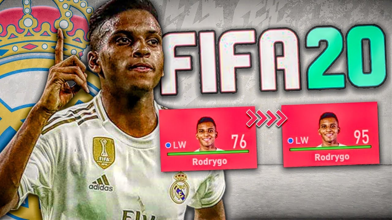 RODRYGO IN FIFA 20 CAREER MODE Videosu