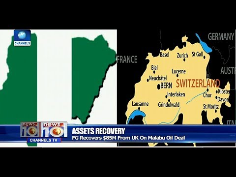 FG Recovers $85m From UK On Malabu Oil Deal Pt.1 |News@10| 26/10/17